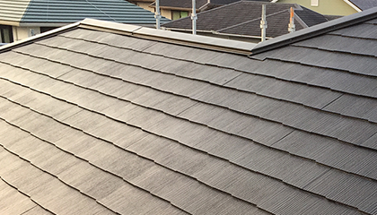 屋根塗装工事 施工後2