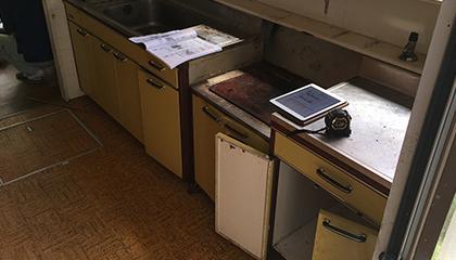 キッチン取替工事 施工前